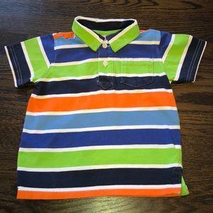 🍏Gymboree Boys Shirt Sleeve Polo Shirt🍏2T